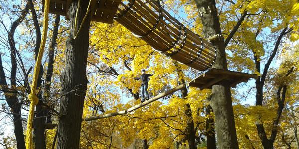 Осень в парке Бабушкина